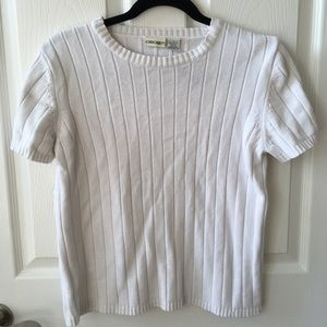 Cable short sleeve shirt